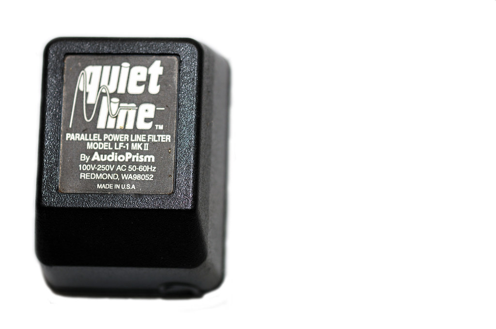 Quiet Line Filter by Audio Prism