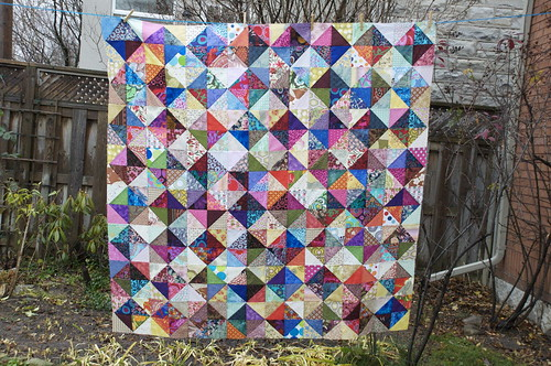 Values quilt all pieced