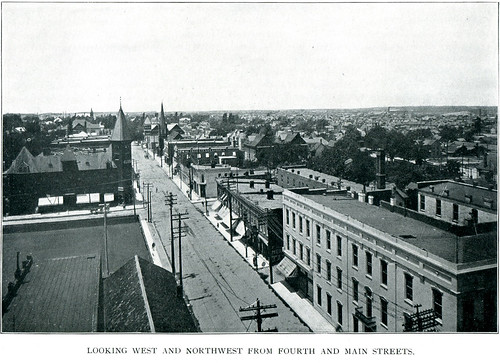 1902 or earlier view of Northwest Joplin centered on Fourth Street