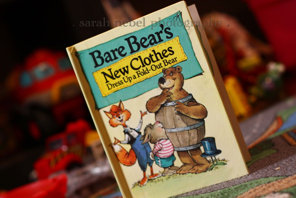 . bare bear's new clothes .