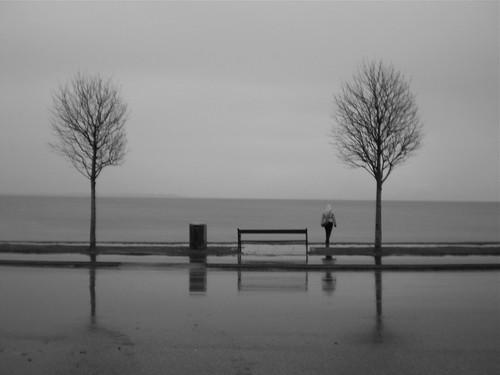 Llovía