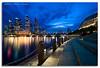 Esplanade Blue (DanielKHC) Tags: blue digital interestingness high nikon singapore cityscape dynamic explore hour esplanade cbd range fp frontpage dri hdr blending d300 sigma1020 danielcheong bratanesque danielkhc