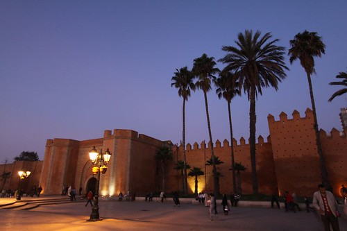 Rabat city walls.