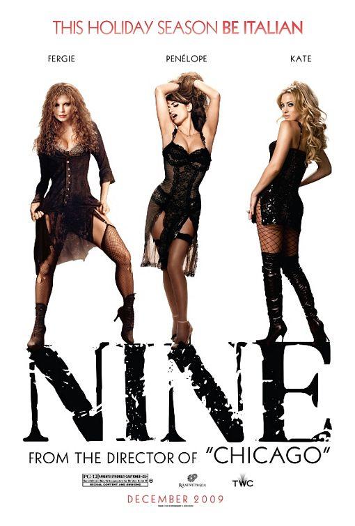 posters de película NINE NUEVE sexy