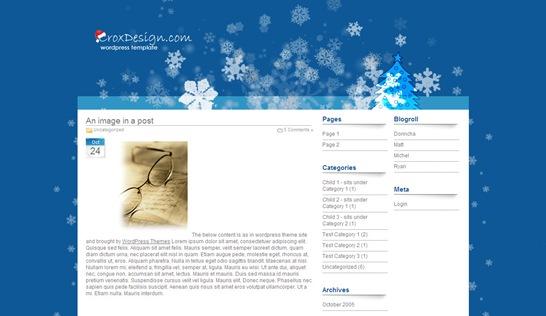 精美的WordPress圣诞节主题