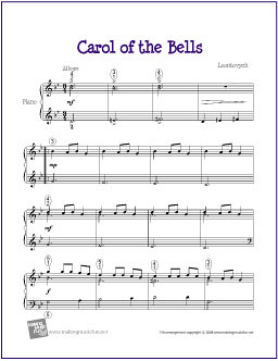 Download Carol of the Bells | Free Sheet Music for Piano