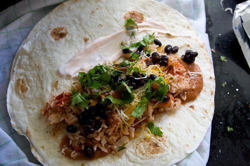 inside my burrito