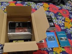 Bücher auspacken