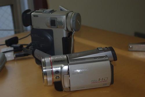 DCR-PC!0 & HDC-TM300