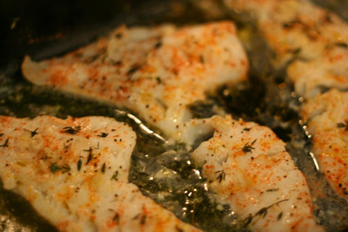 Fabulous Fish Baked Lemon Herb Cod Recipe Sarah S