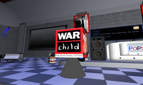 war child fundraiser at popscene