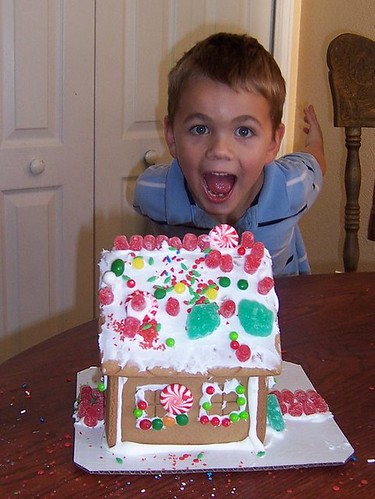 Trey's Gingerbread House