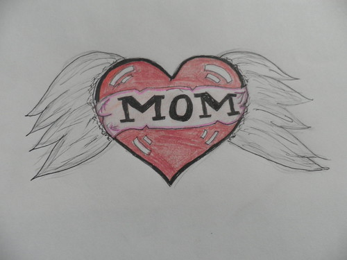how to draw a heart with angel wings image search results