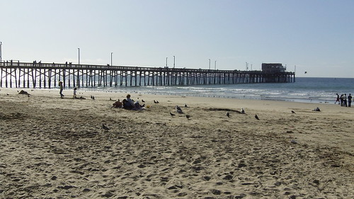 Pier at Newport Beach