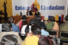 Enlace Ciudadano No. 153 desde el Saln Amarillo de la Presidencia de la Repblica. (Presidencia de la Repblica del Ecuador) Tags: no enlace 153 ciudadano