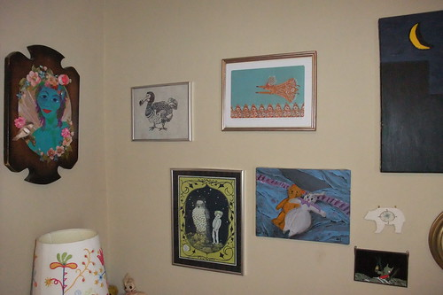 wall, rearranged plus flying fox