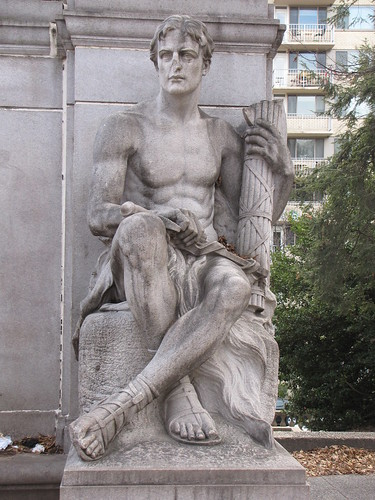 Meridian Hill Park statue