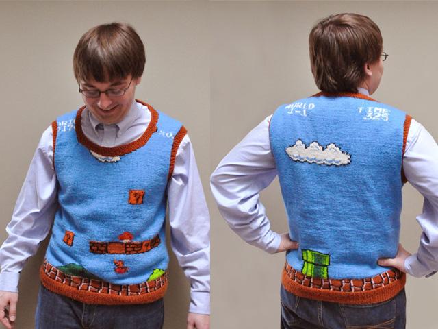 pullover de geek