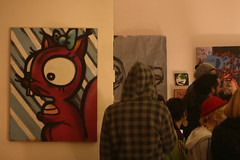 studio 39: graffiti characters on canvases (dusan_the) Tags: streetart graffiti maribor studio39