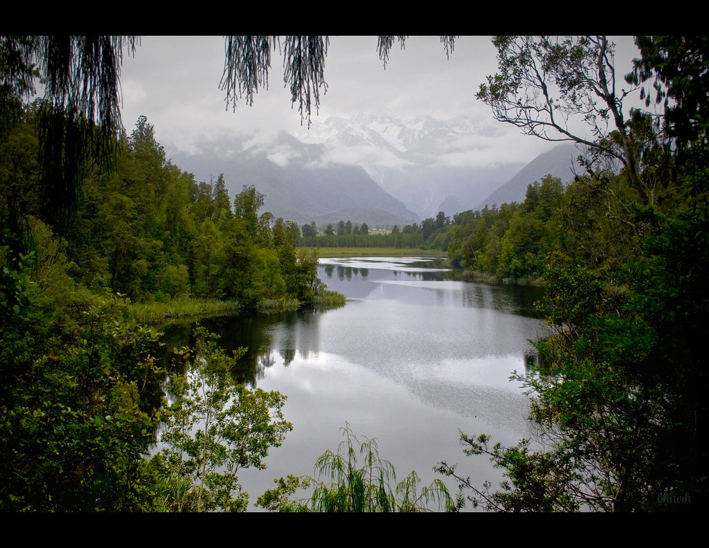 Lake Matheson - the mirror lake