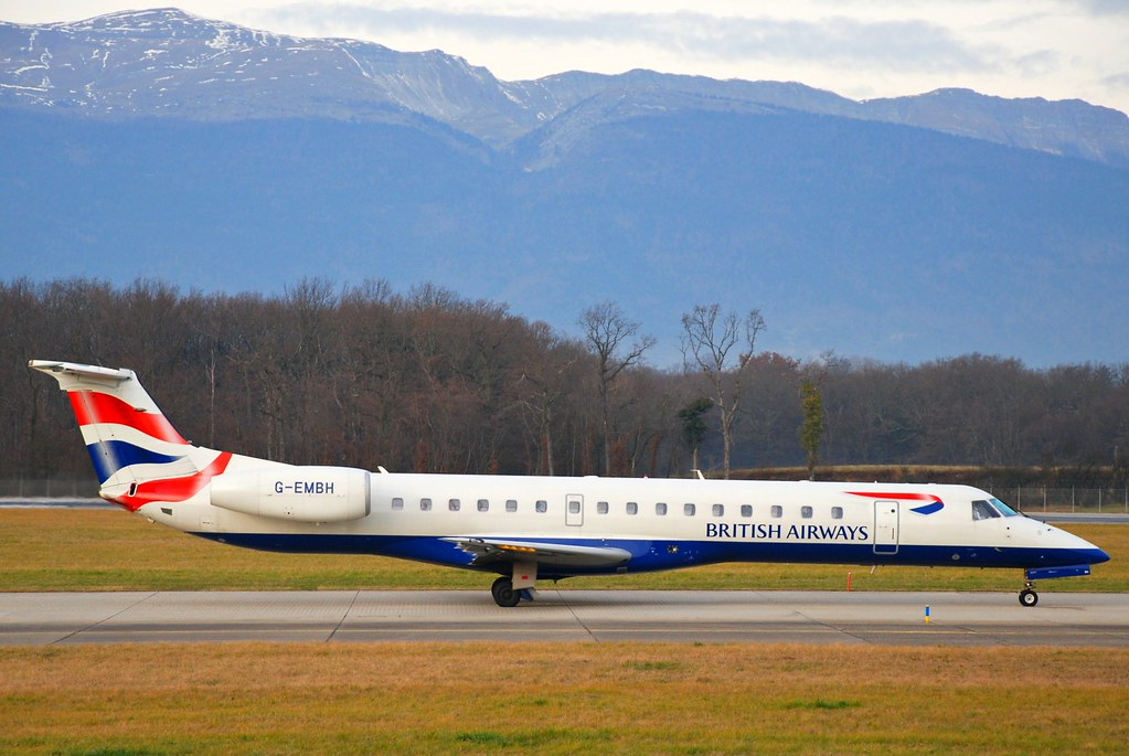 British Airways Embraer ERJ-145; G-EMBH@ by Aero Icarus, on Flickr