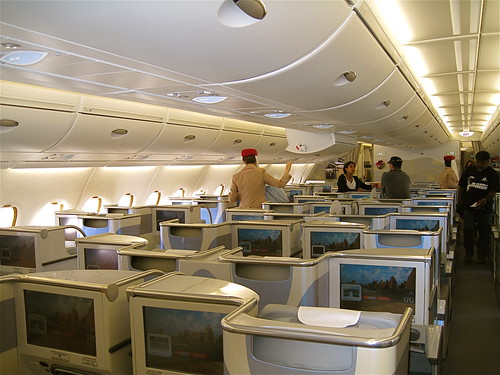 Emirates A380 Business