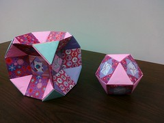 Valetines Hexexcavated-truncated-cube & Cuboctahedron- (Modular Origami) (Origami Tatsujin 折り紙) Tags: art colors paper paperart origami geometry modular sonicboom fold create multicolored japaneseart papiroflexia module papercraft unit papercrafts polyhedra modularorigami おりがみ multidimensional 折り紙 geometricbeauty geometricart cuboctahedron cooperativelearning colorfulart truncatedcube origamipolyhedra analyticalgeometry origamitutorial mathematicsofpaperfolding hexexcavatedtruncatedcube mathematicsorigami origamitechniques