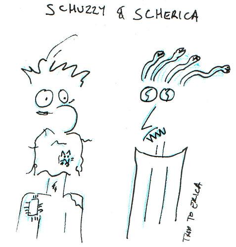 366 Cartoons - 348 - Schuzzy and Scherica
