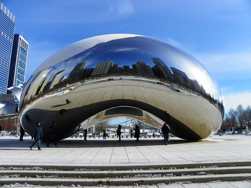 Chicago Cloud Gate - The Bean (20)