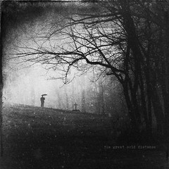 The Great Cold Distance (Midnight - digital) Tags: winter snow man cold tree mystery umbrella dark square dead death sadness mood alone sad cross sinister cemetary tomb atmosphere opeth creepy story nostalgia doom visitation macabre cinematic