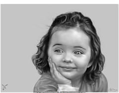 PASO 3: ilustración Digital / Digital Paint in Photoshop CS4 / Niña Peruchi (Juan Camilo Bedoya Vargas) Tags: color art smile illustration digital pencil photoshop wonderful painting wonder sketch nice eyes arte digitalart draw process dibujo hermosa artedigital wacom ilustration beatiful pintura medellín boceto colorization tierna proceso speedpainting colorización camilobedoya painter12
