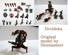 Droideka Instructions (Hessianizer) Tags: people by star couple lego destroyer instructions wars droid requested droideka brickarms