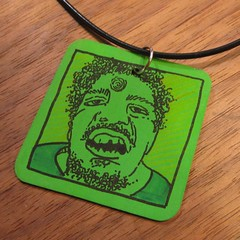 The Incredible Wesley Willis pendant (Tinymeat PDX) Tags: portland indie hulk wesleywillis shrinkydinks tinymeat halfnielsen