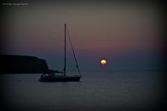 Mediterranean Flower (Christophe_A) Tags: blue sunset sea color beach geotagged boat sailing greece bluehour christophe vignette antiparos sifneikos topseven ελλαδα αντιπαροσ christopheanagnostopoulos χριστοφοροσαναγνωστοπουλοσ χριστόφοροσαναγνωστόπουλοσ