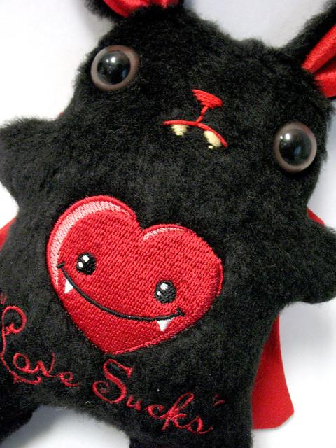 Love Sucks Valentines Bunny