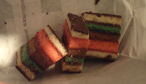 Carlos' Italian Flag Cookies
