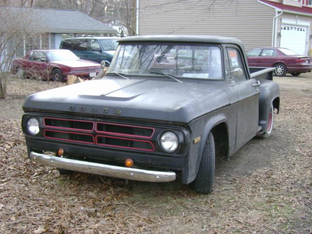 truck 1971 pickup dodge d100 odentonmd utiline