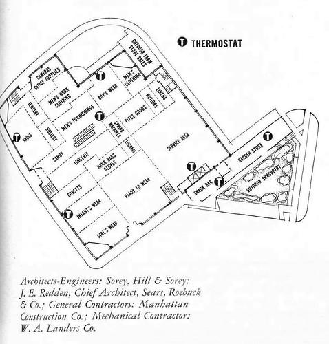 Oklahoma City, OK Sears floor plan 1955