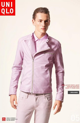 UNIQLO 0236_LOOK BOOK 2010 SPRING_Jakob Hybholt