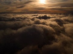 Reach for the Heights (ecstaticist - evanleeson.com) Tags: winter cloud sun sunshine vancouver sunrise canon skyscape contest flight games aerial victory explore helicopter win olympic olympics frontpage 2010 ascend helijet g10 tnmh