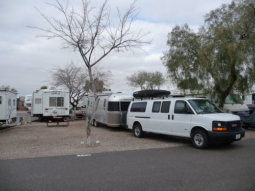 Leaving Cactus Country RV Resort