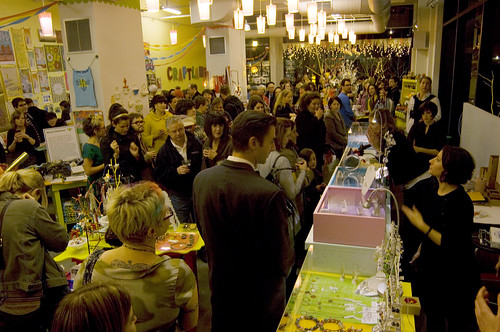 Craftland Show opening 2009