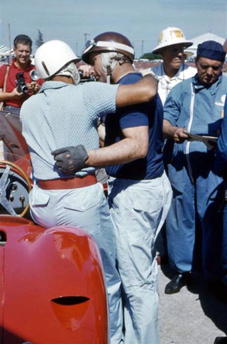 Fangio - Moss at Sebring 1957 (by Nigel Smuckatelli)