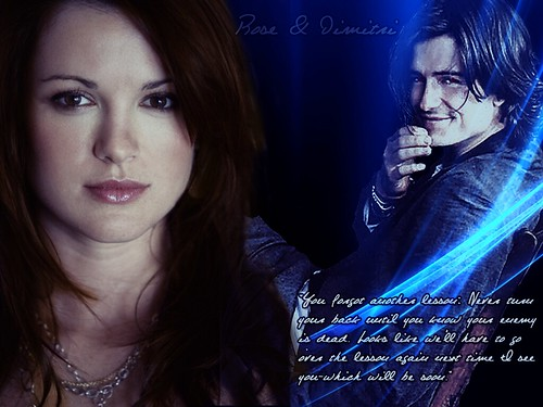 Vampire Academy(Rose and Dimitri)