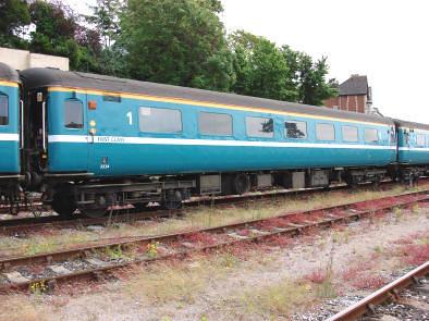 Carriage of charter train (UK) - First class, external