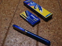 Pelikano school fountain pen -blue-