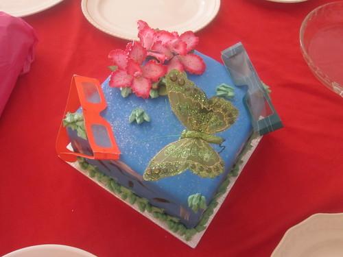 Gâteau Avatar préparé par mon amie Céline
