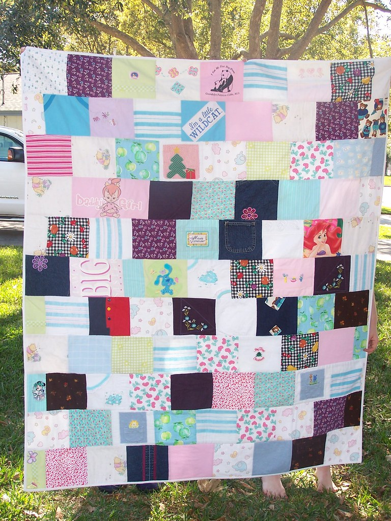 baby clothes quilt 1