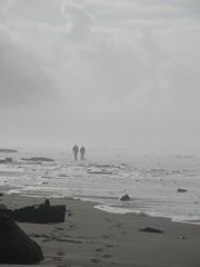 A Morning Stroll ... (Thundercatt99) Tags: ocean beach sand couple oregoncoast lincolncity beachseascape
