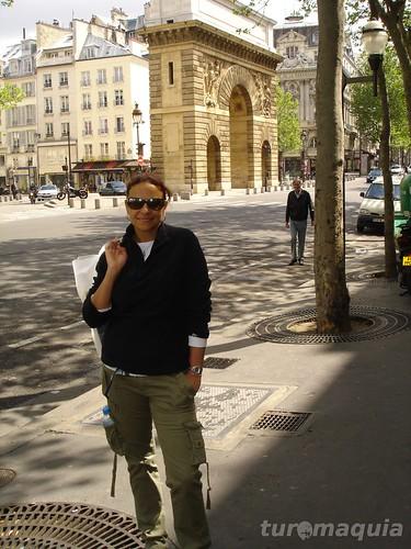 Porta Saint-Denis Paris